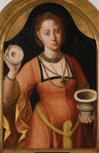 Master of the Magdalene Mansi Legend, Mary Magdalene