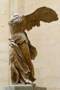 Nike or Winged Victory of Samothrace (Louvre, Paris)