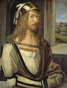Self-portrait of Albrecht Durer (Prado Museum, Madrid)