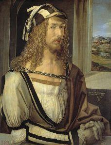 Self-portrait of Albrecht Durer (Prado Museum, Madrid)