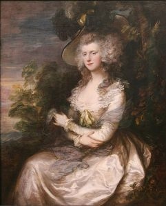 Thomas Gainsborough, Portrait of Mrs. Thomas HIbbert (Neue Pinakothek, Munich)