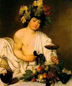 Caravaggio, Bacchus (Uffizi Gallery, Florence)