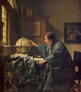 Johannes Vermeer, The Astronomer (Louvre, Paris)
