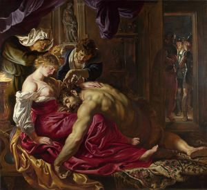 Peter Paul Rubens, Samson and Delila (National Gallery, London)