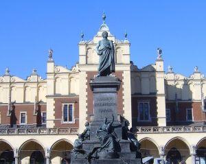 Statue of Adam Mickiewicz, Krakow