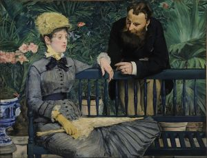 Edouard Manet, In the Conservatory (Alte Nationalgalerie)