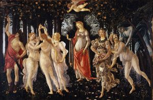 Sandro Botticelli, La Primavera (Uffizi Gallery, Florence)