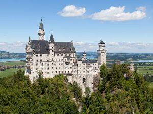 The Castle of Neuschwanstein, Bavaria