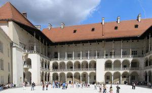 Italianate courtyard, Wawel Castle (Krakow)