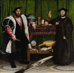 Hans Holbein, The Ambassadors (National Gallery, London)
