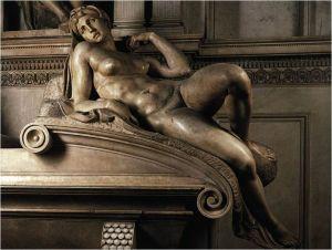 Michelangelo, Dawn (Medici Chapel, Florence)