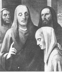 Han van Meegeren, Christ with a Woman Taken in Adultery (sold to Hermann Goring as a Vermeer)