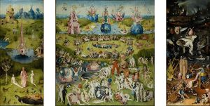 Hieronymus Bosch, The Garden of Earthly Delights (Prado Museum, Madrid)