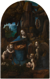 Leonardo da Vinci, Madonna of the Rocks; also called The Virgin of the Rocks (National Gallery, London)