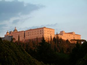Rebuilt Abbey of Monte Cassino