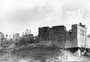 Ruins of the Abbey of Monte Cassino, 1943