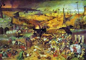 Pieter Bruegel the Elder, The Triumph of Death (Prado Museum, Madrid)