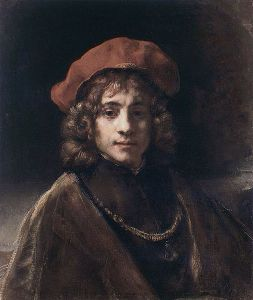 Rembrandt, Titus or Boy with a Red Beret (Wallace Collection, London)