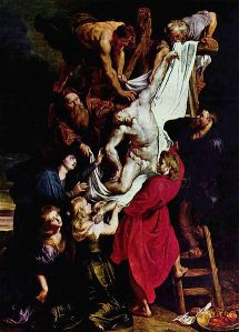 Peter Paul Rubens, Descent from the Cross (Cathedral of Our Lady, Antwerp)