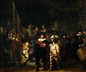 Rembrandt, The Night Watch (Rijksmuseum, Amsterdam)