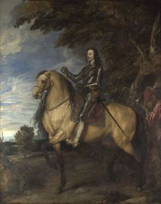 Anthony van Dyck, Equestrian Portrait of Charles I (National Gallery, London)