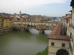 The Vasari Corridor along the Arno/Ponte Vecchio, Florence