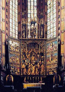 Veit Stoss Altar, Church of Our Lady, Krakow