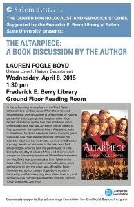 Lecture_Poster _Lauren_Fogle_Boyd_03_15_F